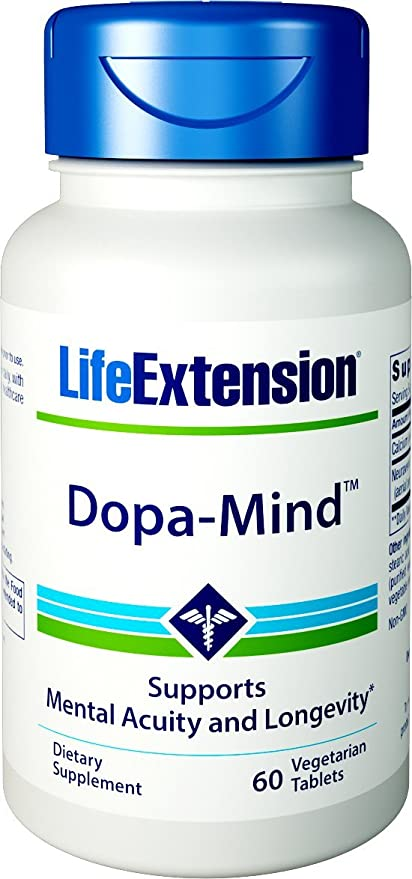 Dopa-Mind, 60 vegetarian tablets: Amazon.es: Salud y cuidado ...