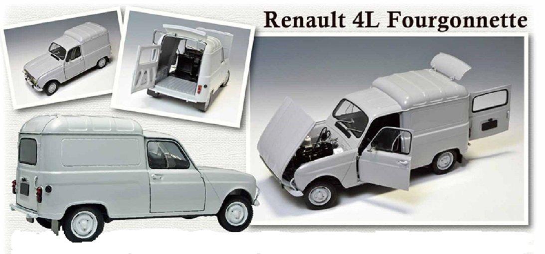 Ebbro 500025003 - 1:24 Renault 4 Fourgonnette