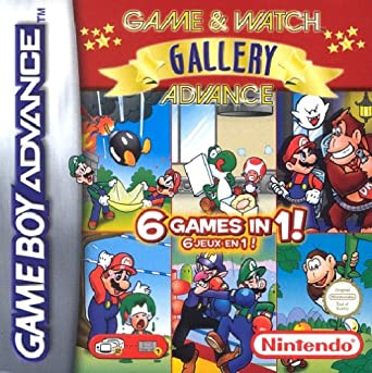 Game Watch Gallery Advance Amazon De Games