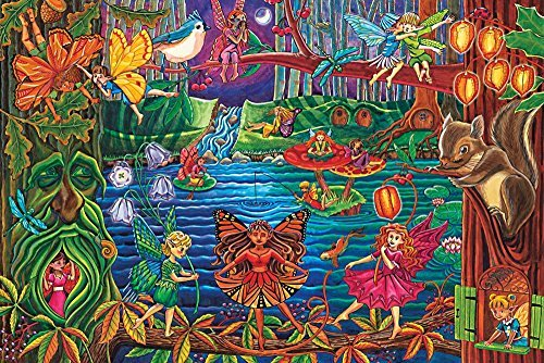 Fairy Forest, A 36 Piece Floor Puzzle by Cobble Hill by Cobble - Hill Forest Store