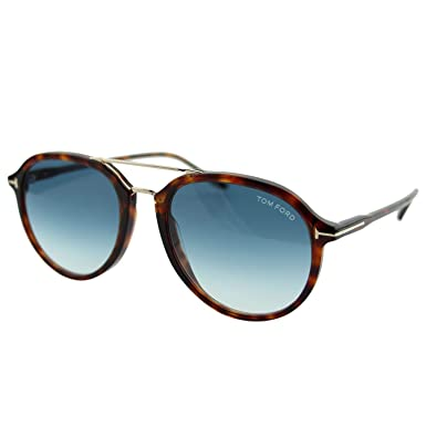 8aa12f7bd4 Tom Ford Sunglasses Style Unisex model FT0674 , Acetate Frame in Havana  Color And Blue Lenses