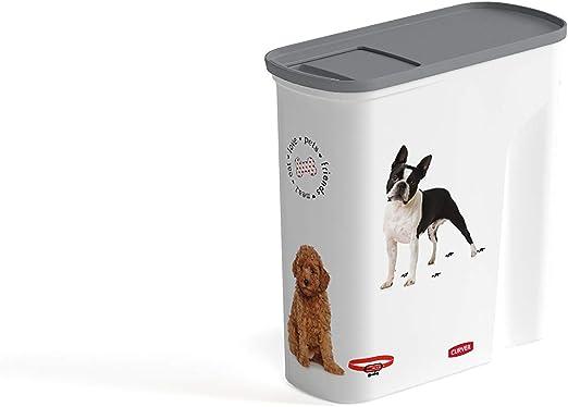 CURVER K&Bz Contenedor para Comida De Perro 6L 2000 g: Amazon.es: Productos para mascotas