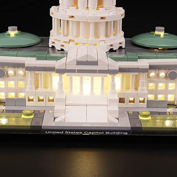 LED Light Beleuchtung Licht Kit Für LEGO 21030 United States Capitol Spielzeug