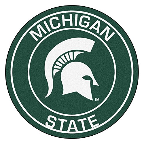 Fanmats 18620 Michigan State University Roundel (Michigan State Spartans Rug)