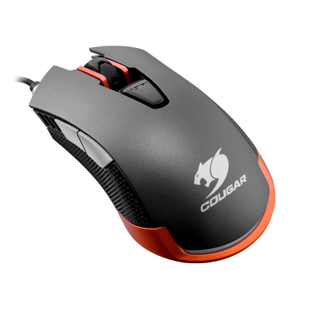 Cougar MO-C550IG Wired USB Optical Mouse w/ 6400 DPI (Iron-Grey)