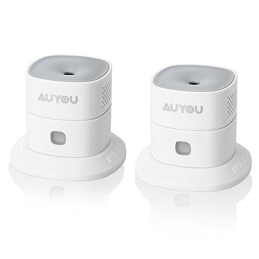 11 opinioni per AUYOU 2 Mini Rilevatore di Monossido di Carbonio e Gas Allarme CO Wireless