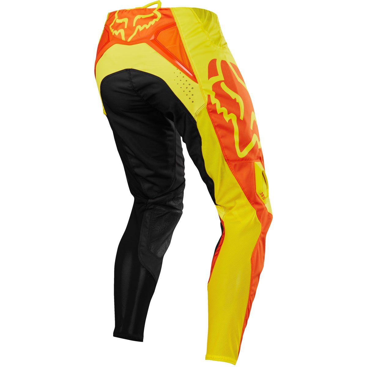 Fox Racing 360 Preme Youth Boys Off-Road Motorcycle Pants - Black/Red / 28