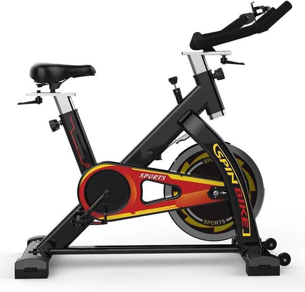 Bicicleta Estática de Fitness, Bici Spinning Bicicleta Fitness Bicicleta de Ejercicio de Interior con Consola y Sensores de Pulso en Manillar,Capacidad Máxima de Carga 100 (kg): Amazon.es: Deportes y aire libre