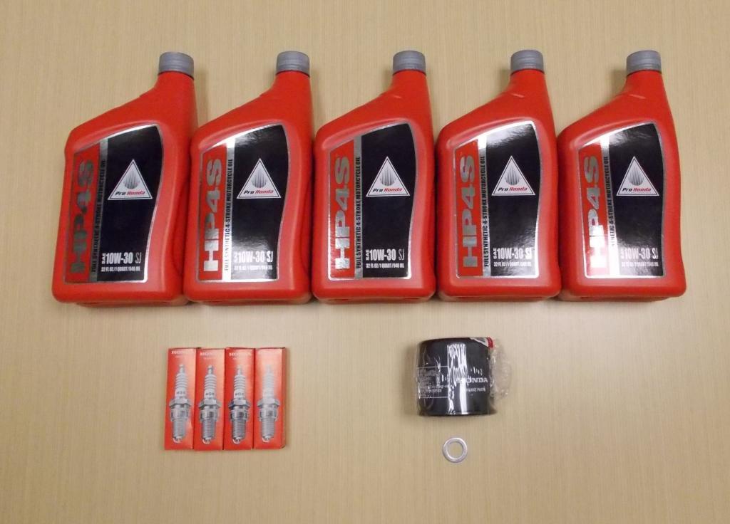 New 2003-2013 Honda ST 1300 ST1300 OE Basic Synthetic Oil Service Tune-Up Kit