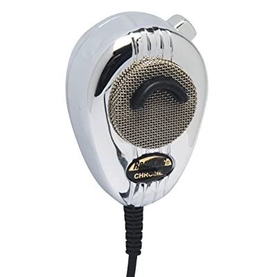 RoadKing RK564PCH Chrome 4-Pin Dynamic Noise Canceling CB Microphone with Flex Cord: Automotive