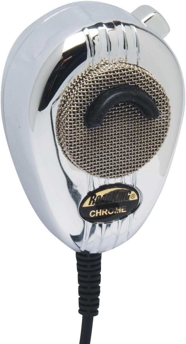 RoadKing RK56B Black 4-Pin Dynamic Noise Canceling CB Microphone
