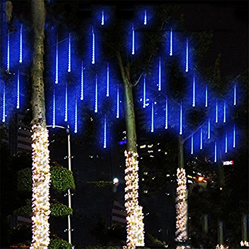 White Led Snowfall Icicle Tube Lights - 6