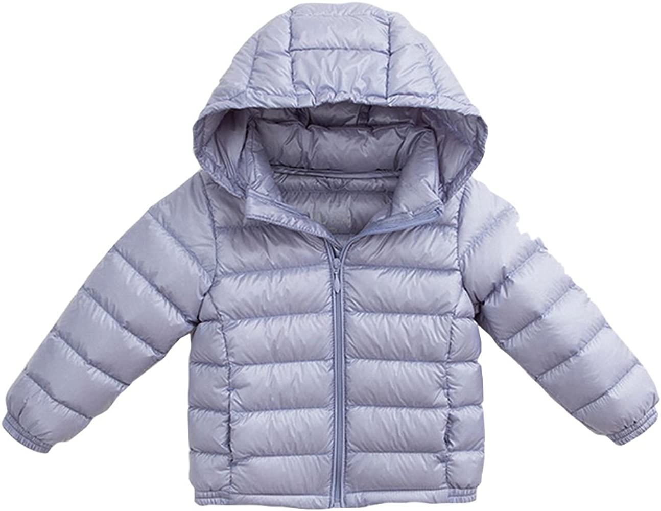 marc janie Little Girls Winter Thick Hooded Ultra Light Weight Down Vest