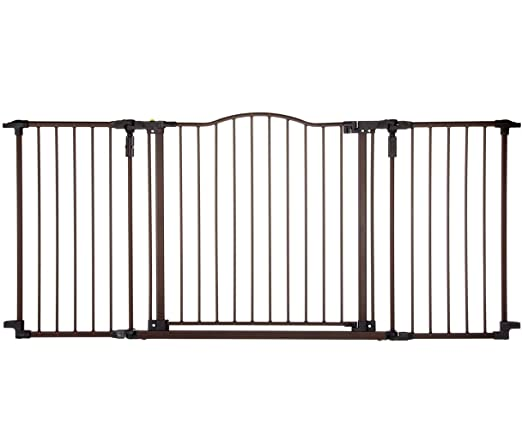 This Deluxe Metal Gate Is Available In A Choice Of Two Colors With A  Stylish Design Thatu0027s Sure To Complement Any Home. It Is 30 Inches High And  Can Easily ...