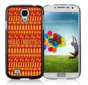 Galaxy S4 cases, Samsung Galaxy S4 cases,Merry Christmas Samsung Galaxy S4 i9500 Case Black Cover WANGJING JINDA