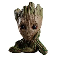Zinuo Groot Action Figures Guardians of The Galaxy Flowerpot Baby Cute Model Toy Pen Pot Best Gifts