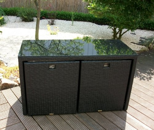 gartenmobel polyrattan schwarz m belideen. Black Bedroom Furniture Sets. Home Design Ideas