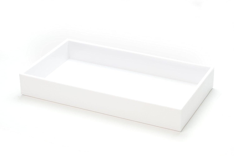 SE JT912W 2' Jeweler's White ABS Display Tray Sona Enterprises