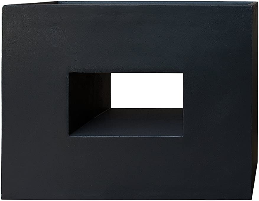 60x40x40 cm Spetebo 4er Blumentreppe anthrazit XXL Kunststoff Blumenk/ü bel Pflanztrog eckig Pflanztopf Treppe Wendeltrepppe Blumentreppe