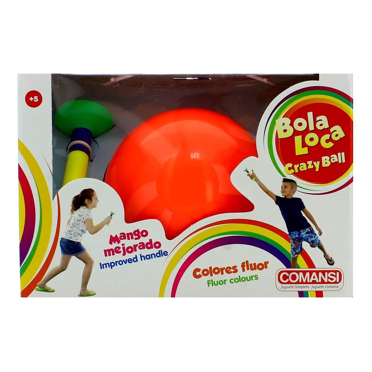 Comansi Bola Loca Naranja: Amazon.es: Juguetes y juegos