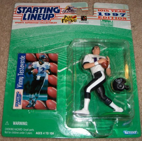 1997 Starting Lineup Football Vinny Testaverde by Starting Line Up