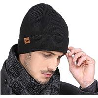MOKIE Winter Women & Men Beanie Gloves Warm Fleece Skull Cap and Touch Screen Gloves Set