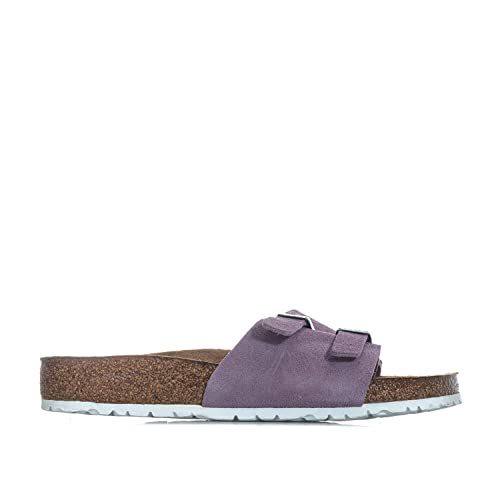 b4119f5bf Birkenstock Womens Womens Vaduz Soft Footbed Sandals Regular Width in  Lavender -