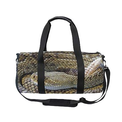 Amazon.com: MUOOUM Snake Rattlesnake Reptile Bolsa de ...