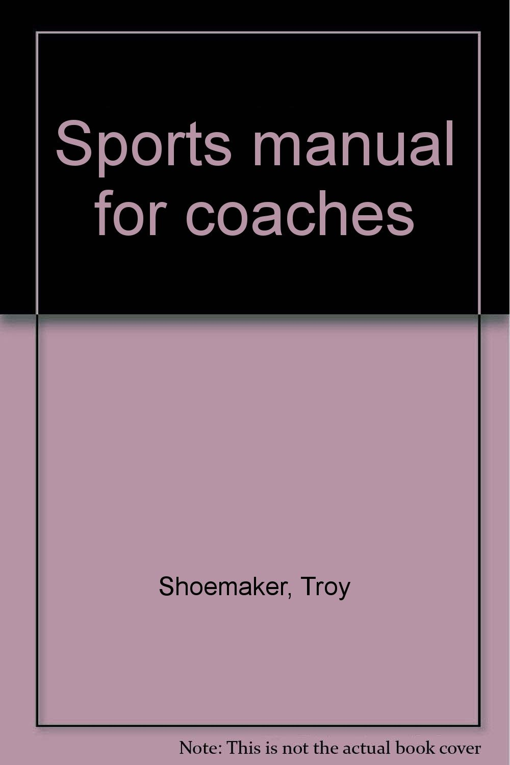 Sports manual for coaches