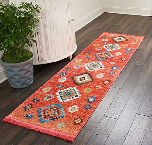 Nourison  Tribal Décor Traditional Colorful Area Rug, 2'2