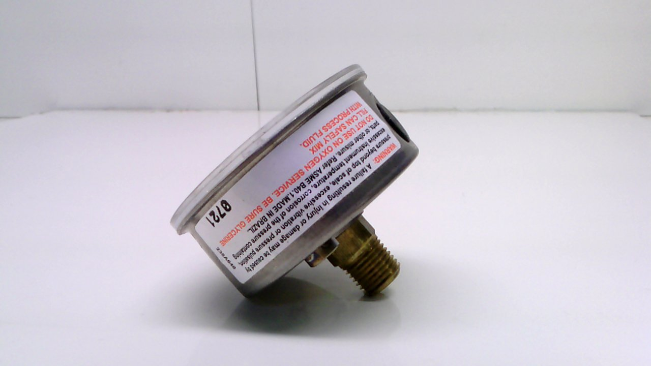 Ashcroft 63W3005 Hl 02B 0-160 Psi Pressure Gauge 0-160 Psi 1//4 Npt Back 63W3005 Hl 02B