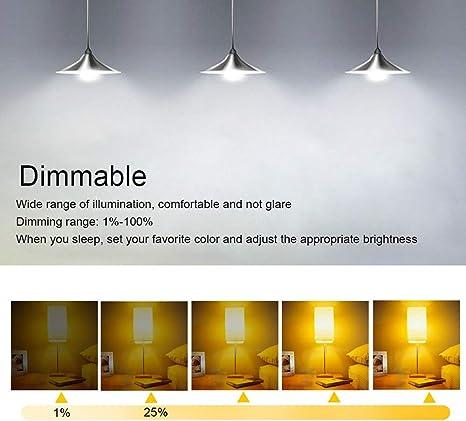 Bombilla De Luz LED con Cambio De Color Inteligente, E27 15W RGB Controlado por App, Sincronización con Música, 16 Millones De Ajustes De Color Regulables (Paquete De 2),WhiteLight: Amazon.es: Deportes y aire