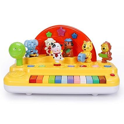 LIPENG-TOY Juguete para bebé Teclado Bebé Música Escenario Piano Caja de Regalo Regalo 1