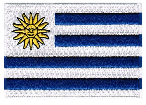Uruguay Flag Embroidered Patch Uruguayan Iron-On National (Uruguay Flag Patch)