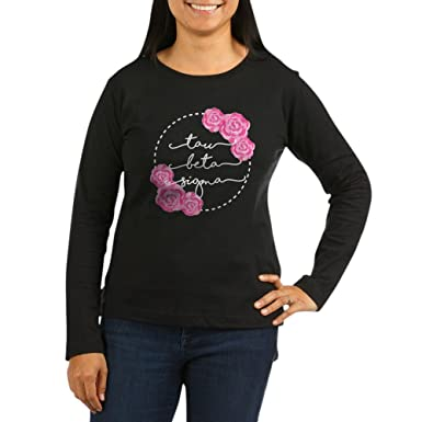 f55772b8d Amazon.com  CafePress - Tau Beta Sigma Sorority Pink Rose Long ...