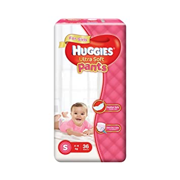 f2610c303 Image Unavailable. Image not available for. Colour: Huggies Ultra Soft Small  Size Premium Diapers ...