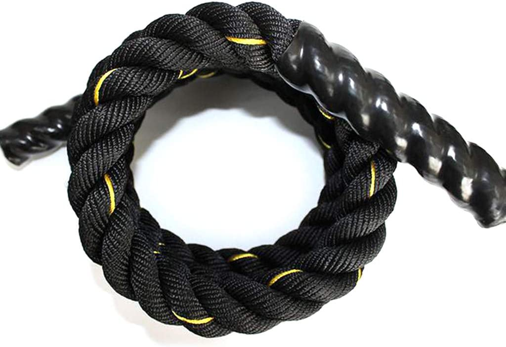 Details about  /Heavy Jump Rope Skipping Rope Workout Battle Rope for Strength Training