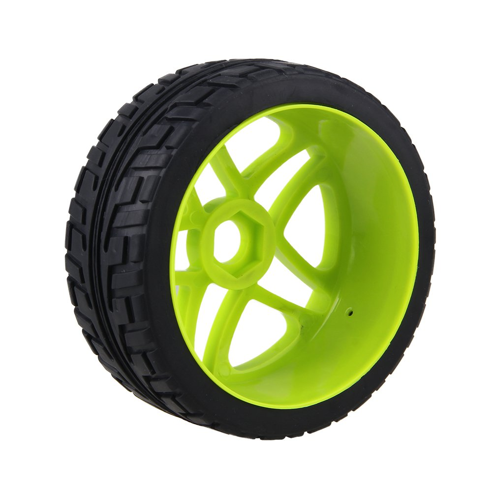 Amazon.com: BQLZR 17mm RC 1:8 Off-road Car Hub Tires Wheel Rims For Running On The Cement Ground Pack Of 4: Toys & Games