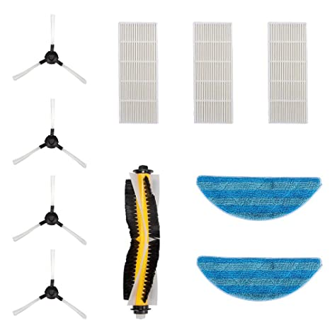 Kit de accesorios para bagotte partes de repuesto para aspiradora robot i7