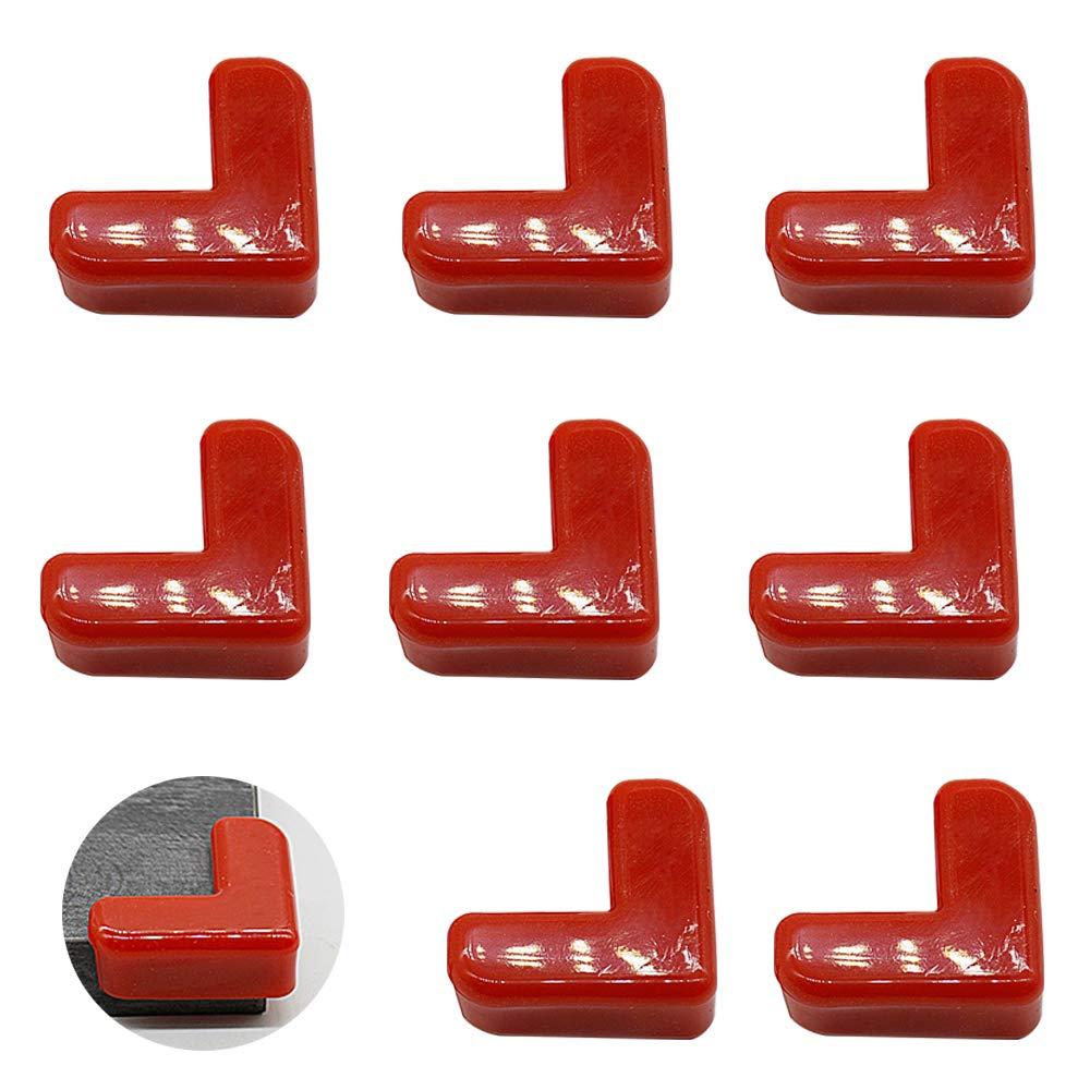 Protecciones para Esquinas de Seguridad Protector Esquinas para Muebles 8piezas LINVINC Amarillo Protectores de Esquinas para Bebes y Ni/ños
