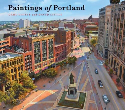 Maine Port Portland Old - Paintings of Portland