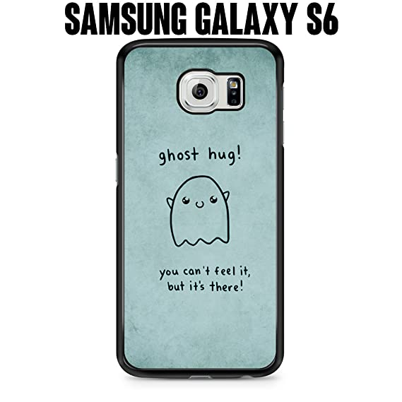 outlet store c805e f47be Amazon.com: Phone Case Ghost Hug Cute Quirky Funny Adorable Girly ...