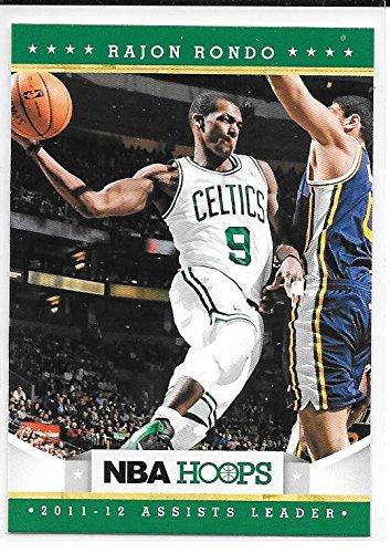 (Rajon Rondo 2012-13 NBA Hoops Boston Celtics Card #298)