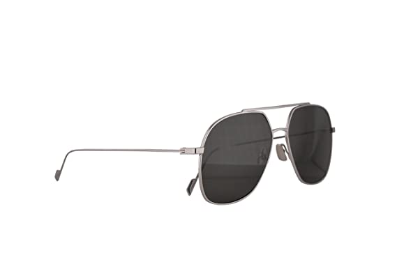 daaf20bae82 Amazon.com  Saint Laurent Sunglasses SL 192 T Silver w Grey Lens ...