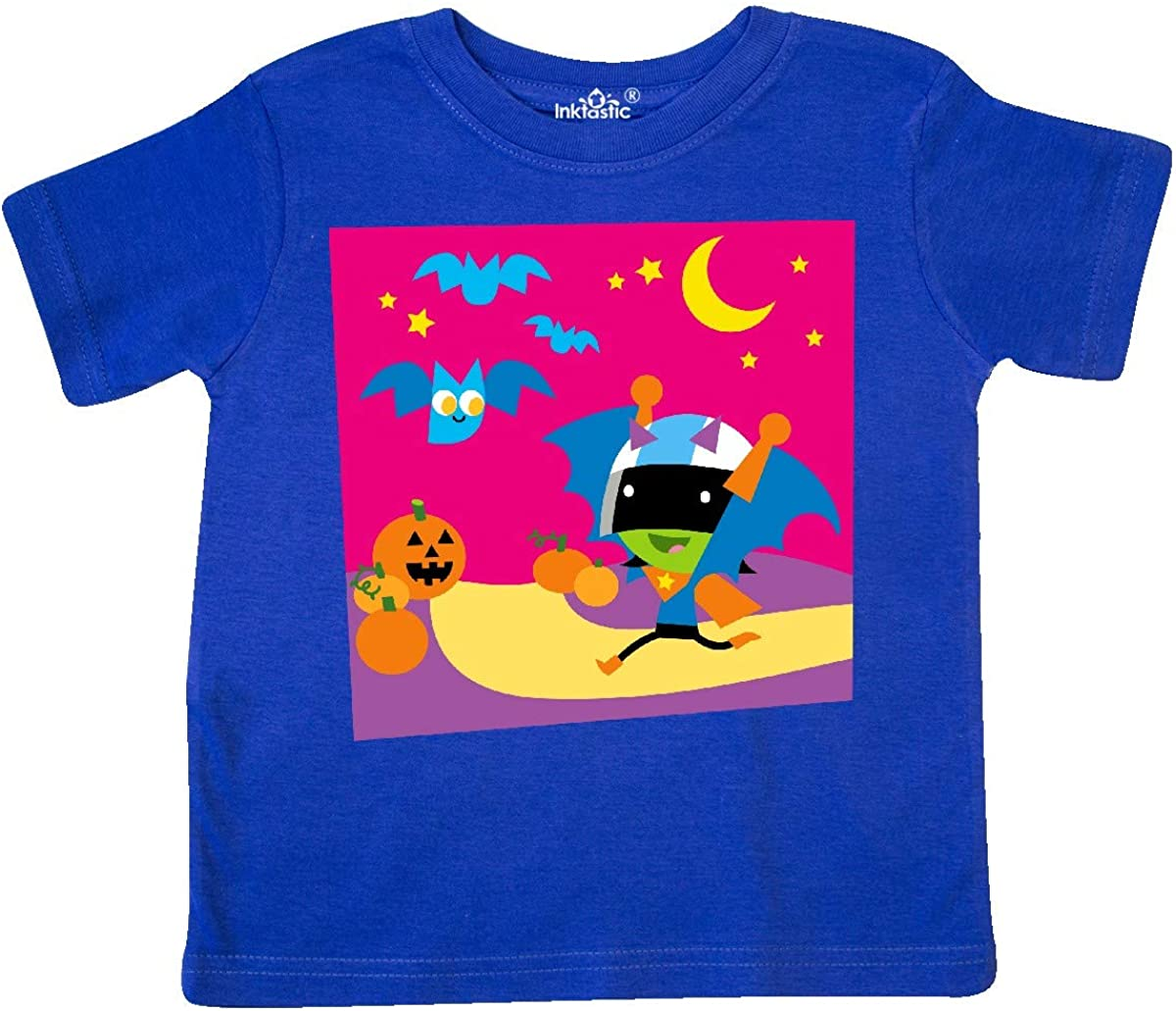 PBS Kids inktastic Dee and Halloween Bats Toddler T-Shirt