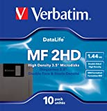 Verbatim 87410 MF2HD 3.5 Inch DS/HD IBM 1.44 MBDiskettes (Pack of 10)
