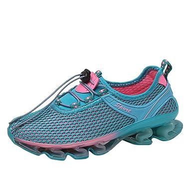 ZARLLE Zapatos planos de Viajes,zapatos para correr en montaña ...