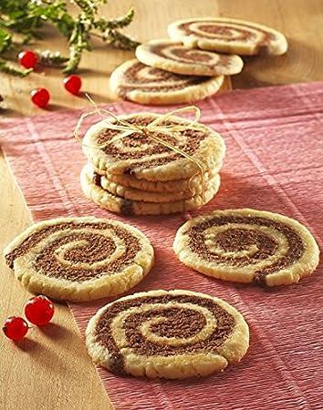 Zubeh/ör f/ür Waffeleisen Tefal XA801412 Snack Collection Biscuit-Set