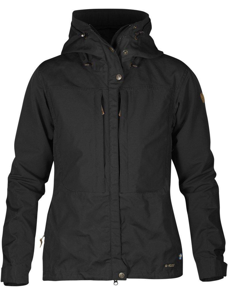 Fjallraven Women's Keb Jacket, Black, XL