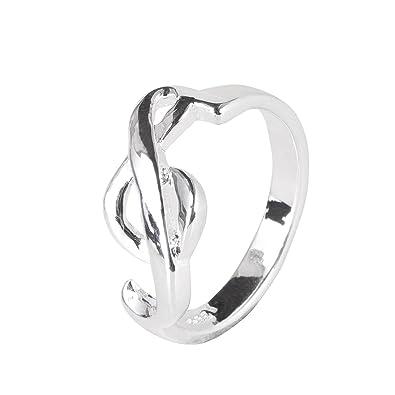 Ring Violinschlüssel / Notenschlüssel silber 52 - Schönes Geschenk ...
